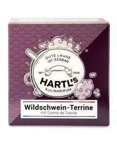 Wildschwein-Terrine mit Creme de Cassis 100g