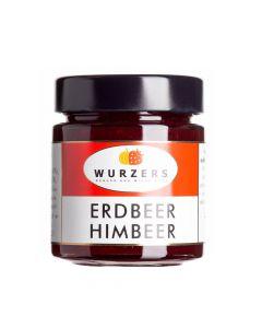 Wurzers Erdbeer Himbeer Fruchtaufstrich 165g