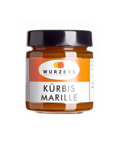 Wurzers Kürbis Marille Fruchtaufstrich 165g