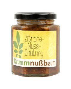 Zitrone Nuss Chutney 190ml
