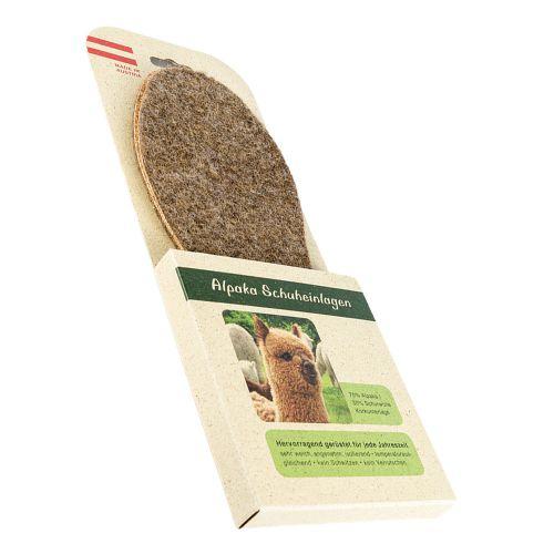 Alpaka Einlegesohlen mit hochwertiger Korkunterlage für Kinder