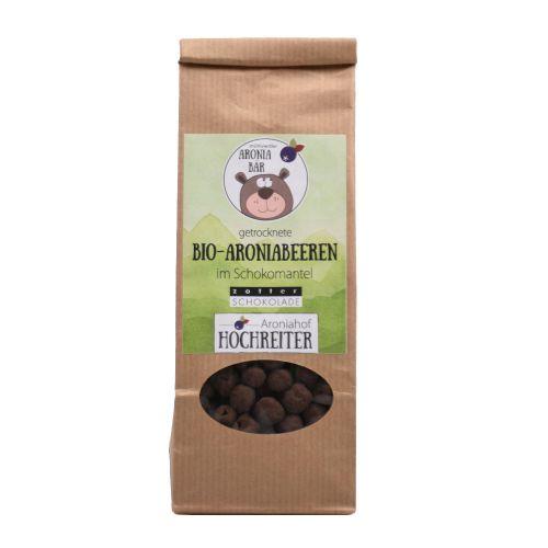 Bio Aroniabeeren mit dunkler Bitterschokolade 100g