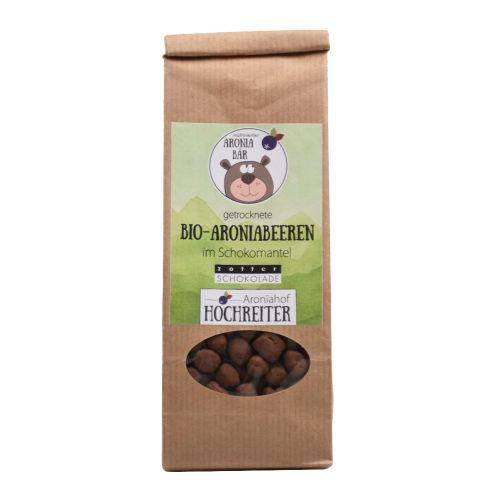 Bio Aroniabeeren mit heller Schokolade 100g