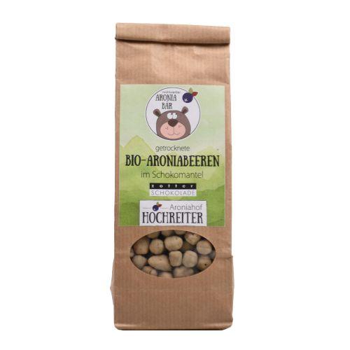 Bio Aroniabeeren mit weißer Schokolade 100g