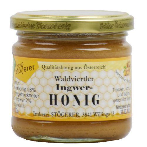 Bio Honig mit Ingwer 250g