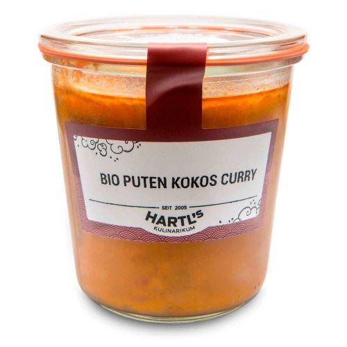 Bio Puten Kokos Curry 460g