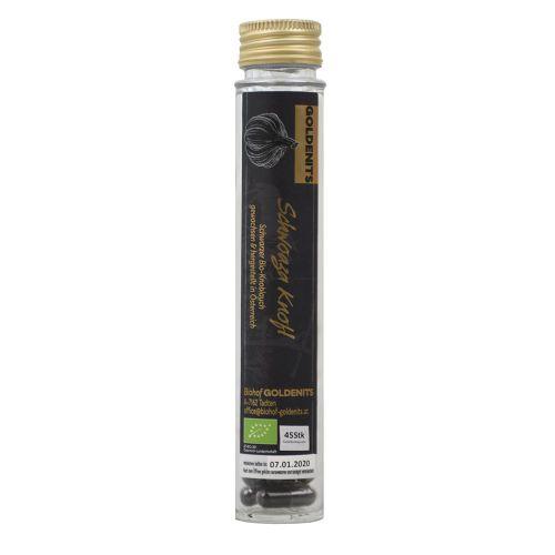 Bio Schwarzer Knoblauch - Black Garlic Kapseln 45 Stück