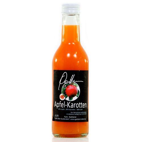 Apfel-Karottensaft 250ml