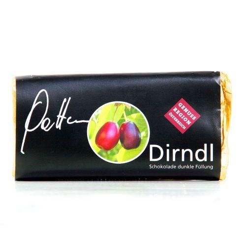 Dirndl-Schokolade dunkle Füllung 65g