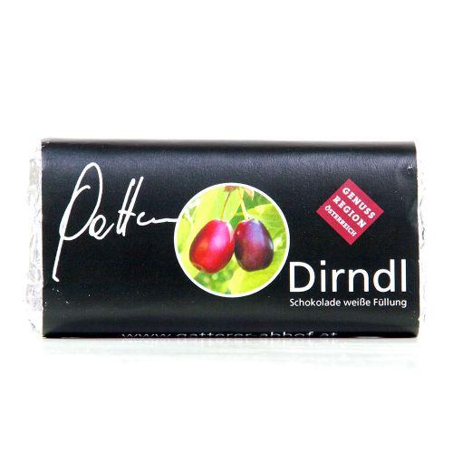 Dirndl-Schokolade weiße Füllung 65g