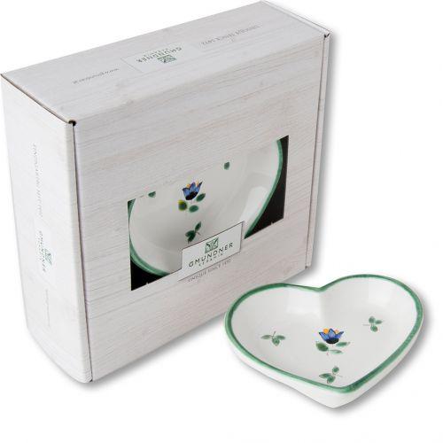 Herzschale Streublumen 10cm
