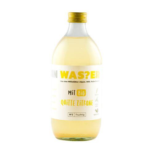 ICH BIN WAS?ER Bio Quitte Zitrone No 2 Fruchtig 500ml