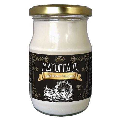 Mayonnaise 50 Prozent mit Freilandei nach Wiener Rezeptur 250ml