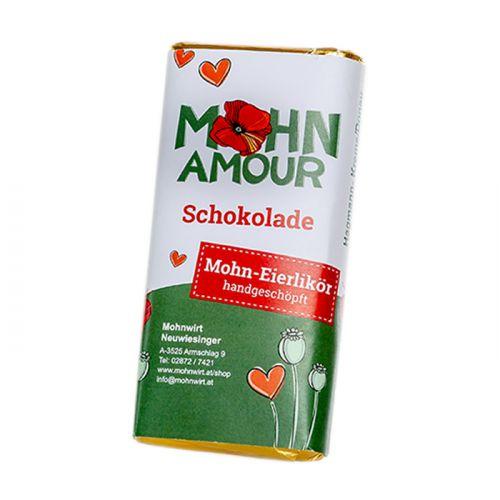Mohn-Eierlikörschokolade 65g
