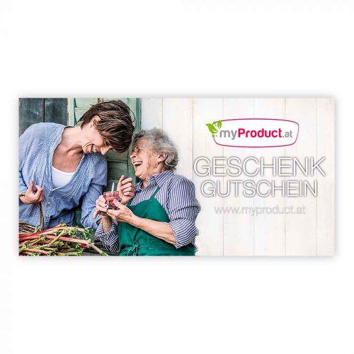 myProduct.at Geschenkgutschein