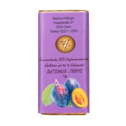 Schokolade Zwetschken-Trüffel 70g