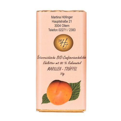 Schokolade Marillen-Trüffel 70g
