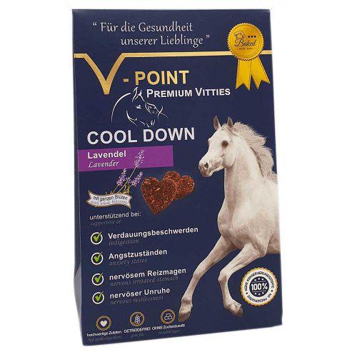 Cool down - Lavendel-Leinsamen - Premium Vitties für Pferde 250g