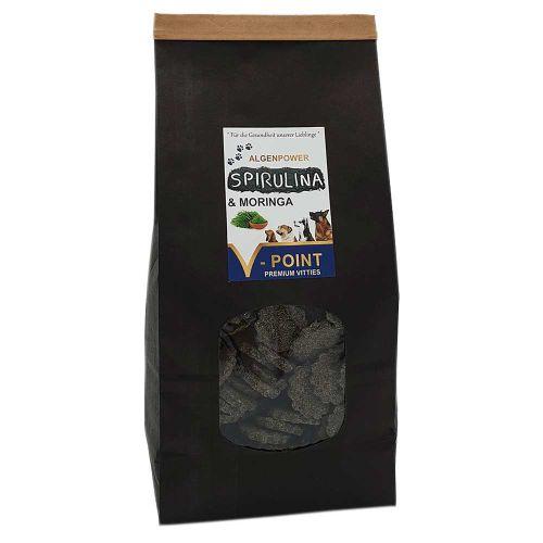 Spirulina und Moringa - Premium Vitties für Hunde 500g