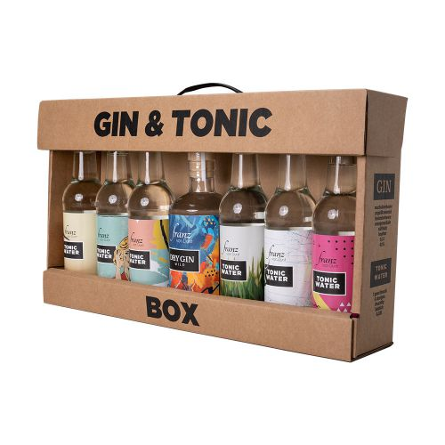Franz von Durst Wild Dry Gin Tonic Box